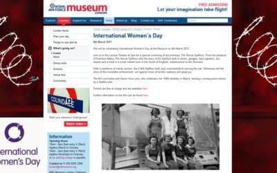Secret Spitfires celebrates International Women's Day at RAF Museum