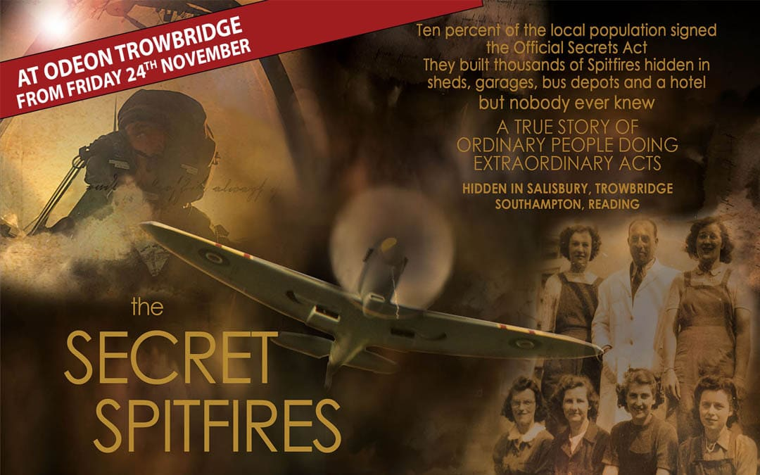 Secret Spitfires coming to Odeon Trowbridge 24th November