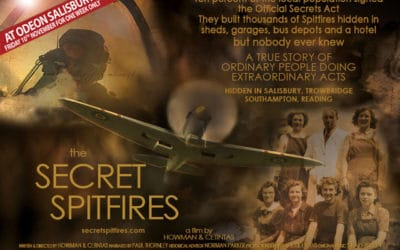 Secret Spitfires hits the big screen!