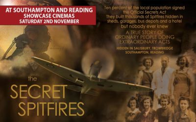 Secret Spitfires at Southampton and Reading Showcase Cinemas