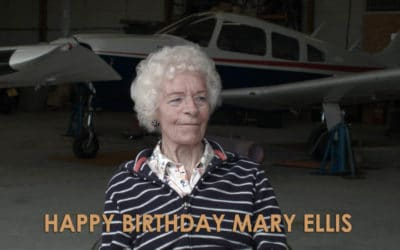 Our amazing ATA Girl Mary Ellis is 101 today!