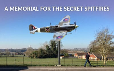 Salisbury Secret Spitfire Memorial on the way